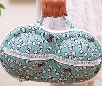Органайзер для бюстгальтерів (з сіточкою) бантики / Органайзер сумочка для бюстгалтеров (с сеточкой) бантики, фото 1