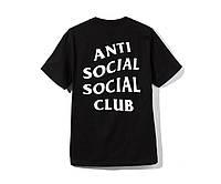 Футболка Anti Social Social Club Black (ориг.бирка)