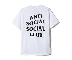 Футболка Anti Social Social Club White (ориг.бирка)