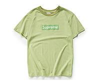 Женская футболка Supreme Olive (ориг.бирка)