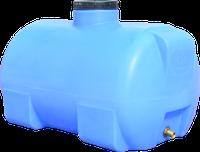 Емкость горизонтальная круглая 85 литров