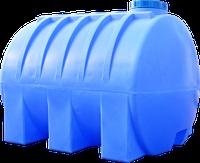 Емкость горизонтальная круглая 5000 литров