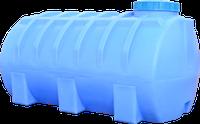 Емкость горизонтальная круглая 2000 литров
