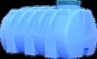 Емкость горизонтальная круглая 750 литров