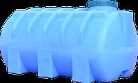 Емкость горизонтальная круглая 1000 литров