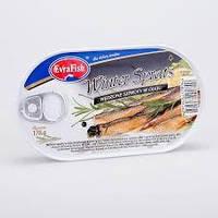 Шпроты Evra Fish Winter Sprats, 170 г (Польша)