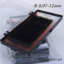Ресницы  I-Beauty на ленте B 0,07-12мм