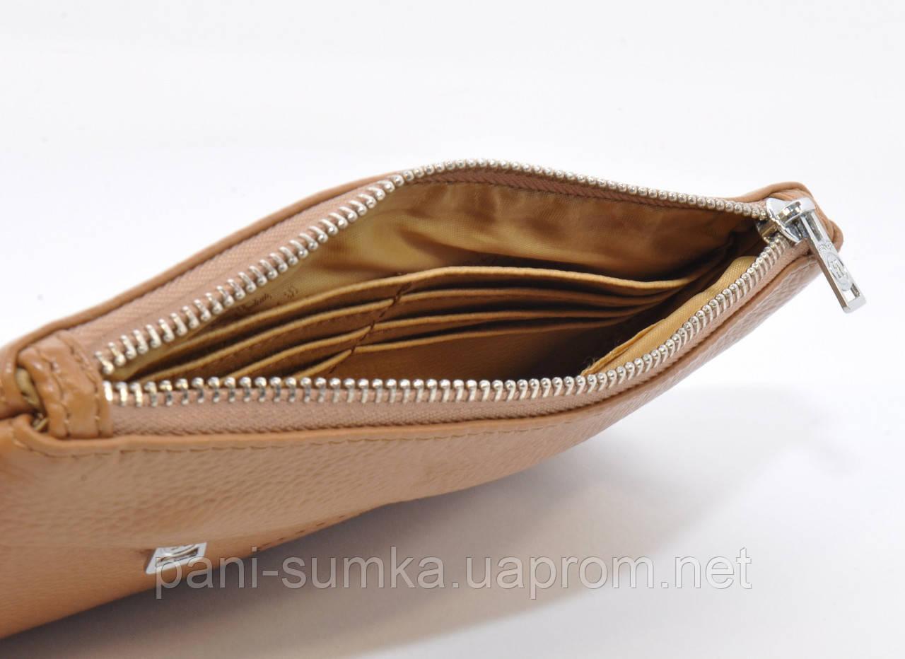 368c4ea4f502 Кошелек-клатч кожаный Hermes 1905 светло-коричневый, цена 435 грн., купить  Белгород-Днестровский — Prom.ua (ID#561957829)