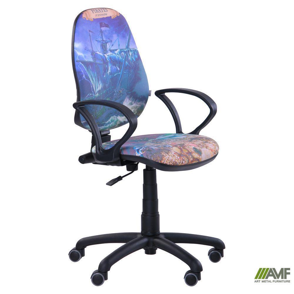Кресло Поло 50/АМФ-4 Дизайн №5 Дельфины