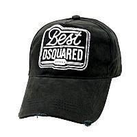 Кепка мужская Dsquared. Женская кепка. Бейсболка| D2 черная