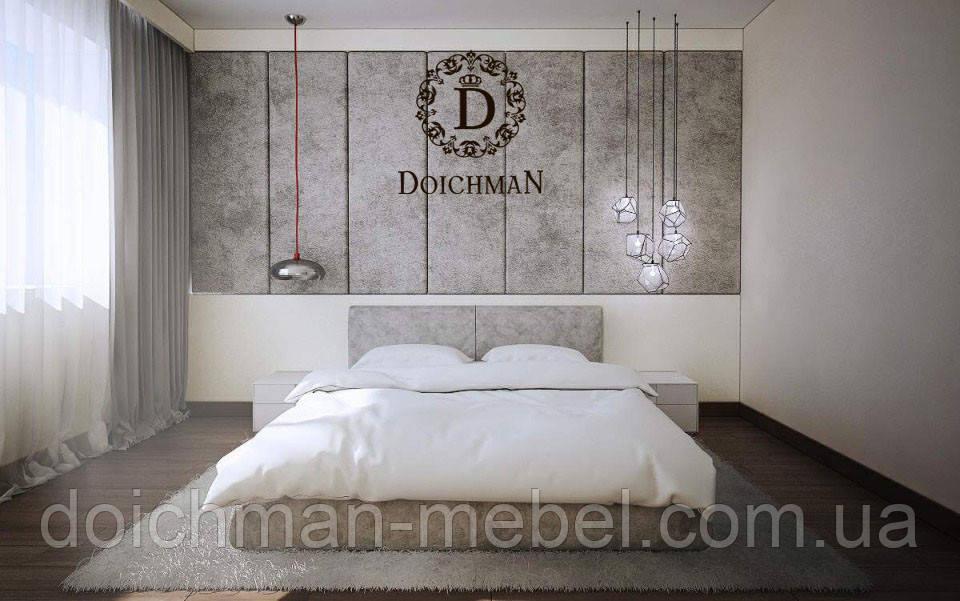 Мягкие панели для спальни спинка под размер