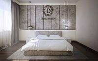 Мягкая панель в спальню на стену под размер