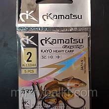 Гачки Kamatsu Kayo heavy carp 2