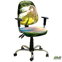 Кресло Бридж Хром Дизайн №13 Единорог