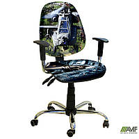 Кресло Бридж Хром Дизайн №17 Вертолет