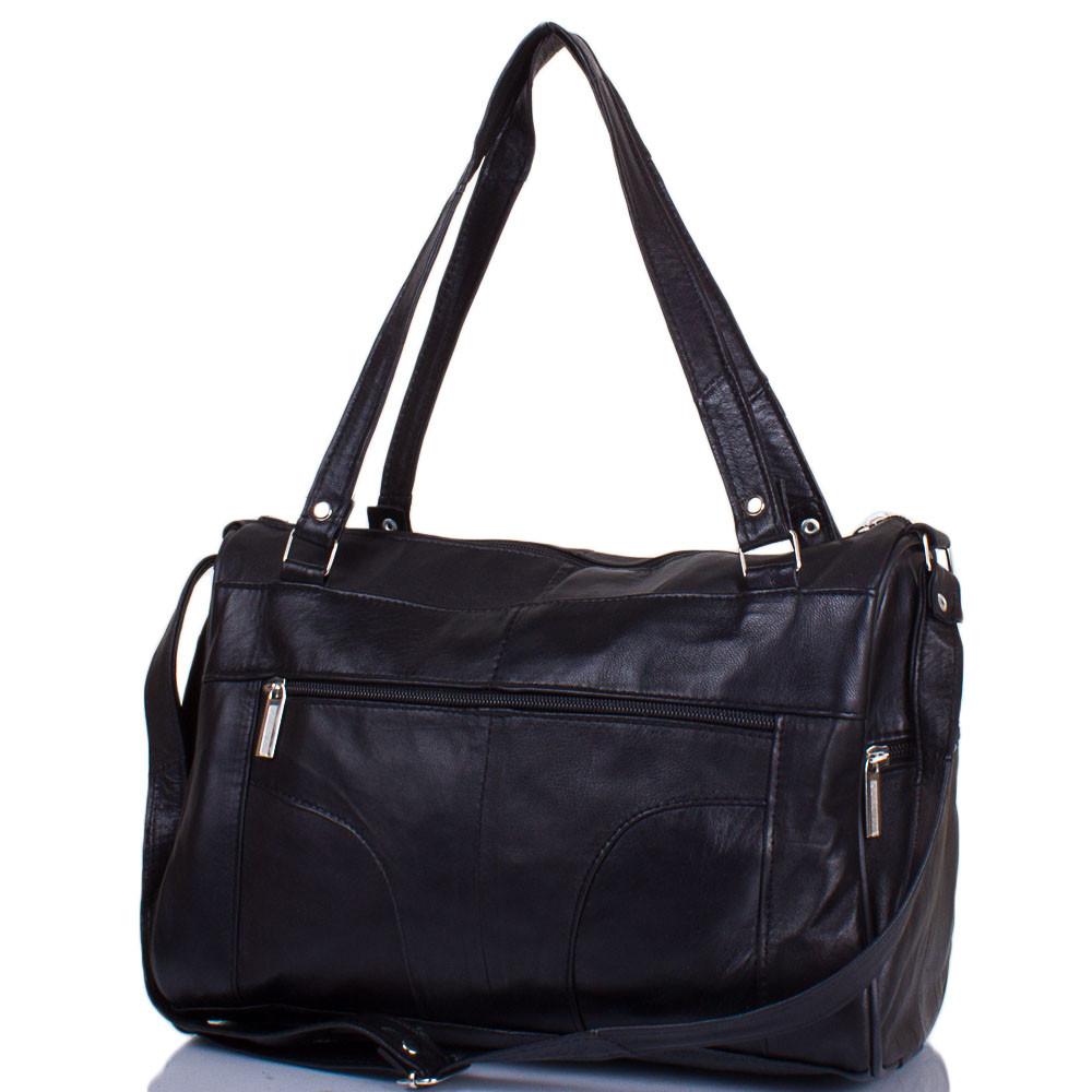 963eb41bc87c Черная женская кожаная сумка TUNONA SK2420-2 - SUPERSUMKA интернет магазин  в Киеве