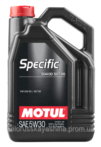 MOTUL Specific 504 00 507 00 SAE 5W30 (5L)