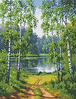 Схема для бисера Березы у реки А1