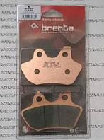 Итальянские синтетические тормозные колодки BRENTA  4165  для мотоциклов  HARLEY DAVIDSON