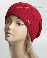 Вязаная шапка Катрин