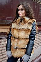 Жилет, куртка из лисы