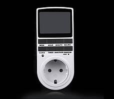 Розетка TS-855 с недельным электронным таймером