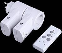 Розетка TS-832 (2 шт) с дистанционным управлением