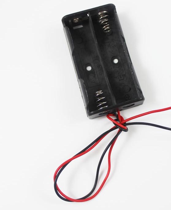 Бокс для батареек (пальчиковые 2 шт) 3 В
