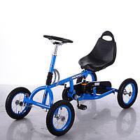 Педальная машина Карт M 1697-12 Formula синий
