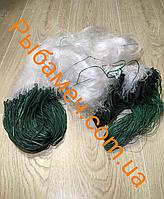 Сеть рыболовная трехстенная (вшитый груз, леска) 1.5х50м ячея 30