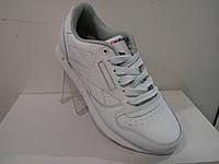 Кроссовки reebok classic leather белые