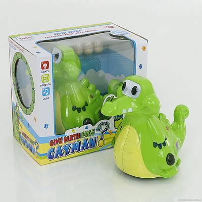 Крокодил 115 (48/2) музыка, свет, на батарейке, в коробке