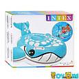 Intex Плотик 57527 синий кит 160-152см 255-23-85см, фото 2