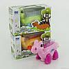 Динозавр музыкальный ЕМ 270 В (48/2) 3 цвета, ЗВЁЗДНОЕ НЕБО музыка, свет, на батарейке, в коробке