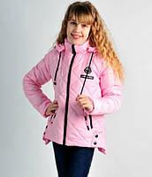 Модная осенняя куртка на девочку Аля Размеры 140, 146