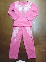 Пижама детская на девочку 26-34 купить  оптом. , фото 1