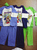 Пижама детская на мальчика 26-34 купить  оптом. , фото 1