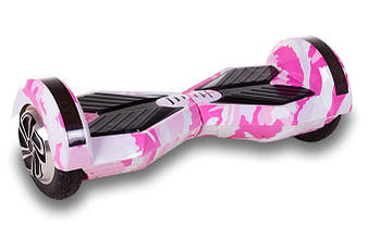 Гироскутер Smart Balance Lambo U6-8 дюймов LED Pink Camo (розовый)