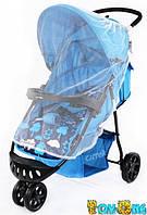 Коляска прогулочная CARRELLO Comfort CRL-1405 голубая