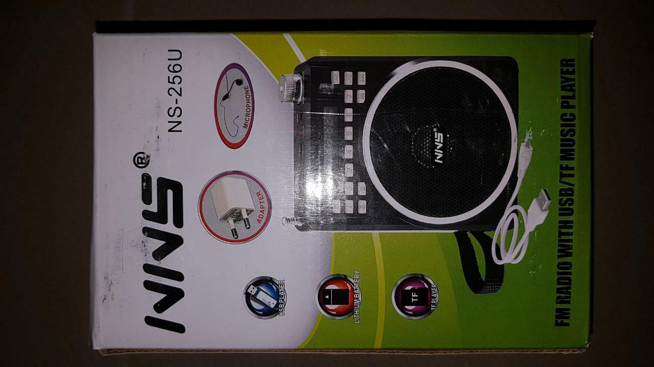 Радиоприемник MP3 USB NNS NS-257-256 U