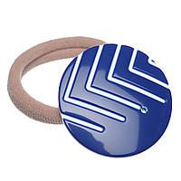 "Резинка для волос KOSMART ""Oval wave"" с кристаллом Swarovski LT40X40OBS"