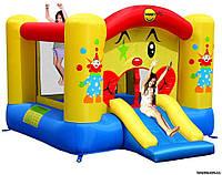 Детский надувной батут Веселый Клоун игровой центр с горкой HAPPY-HOP 9201