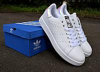 Adidas Stan Smith 3D hologram white кроссовки женские адидас стэн смит белые голограмм