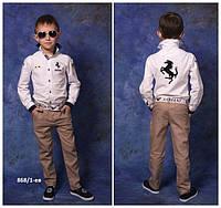 Модельные брюки для мальчика