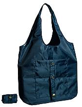 Складна сумка для покупок синя