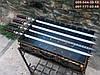 Шампур для ЛЮЛЯ-КЕБАБА с деревянной ручкой, 90 см