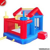 MS Надувной детский батут - игровой центр Домик MS 0567 (уличный, коммерческий)