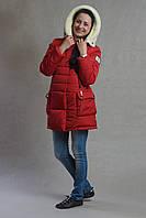 Детская куртка Лейла, красная