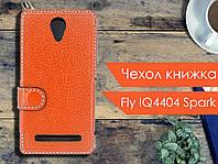 Чехол книжка для Fly IQ4404 Spark