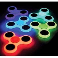 Спиннер фосфорный Fidget Spinner светонакопительный(светится в темноте ), фото 1
